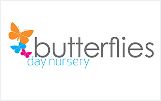 Butterflies Day Nursery logo