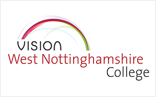 Vision West Nottinghamshire College logo